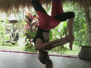 8 Day Surf and Aerial Yoga Retreat in Canggu, Bali