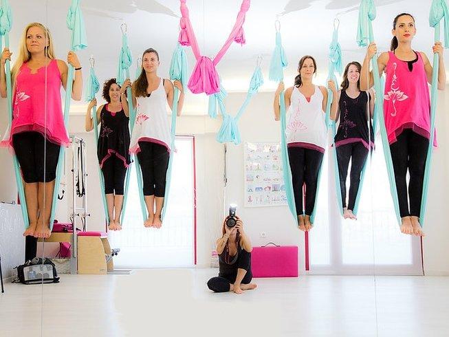 7 días retiro de yoga Aéreo y detox en Maratón, Grecia