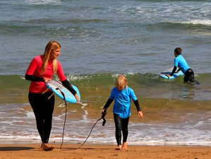 8 Days Family Surf Camp in Vendays-Montalivet, Gironde, France