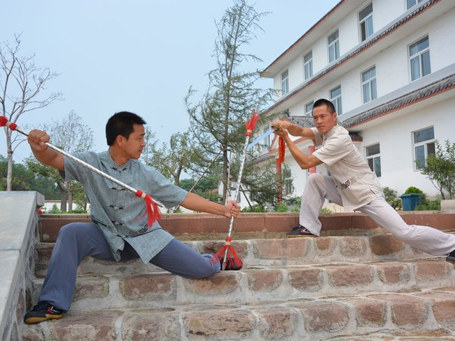 1 Year Wingchun Kungfu, Tai Chi & Shaolin Martial Arts Training in China