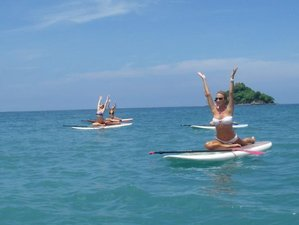5 jours en stage de yoga et surf paddle au Costa Rica