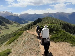 5 Day Fantastic Ara Bel Valley Horse Riding Tour in Issyk-Kul Region, Kyrgyzstan
