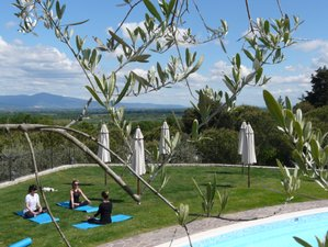 7 Day Captured by the Charm of the Hills Yoga Retreat in Tuscany, Province of Arezzo