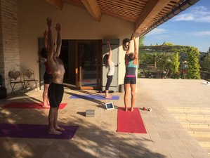 8 Days Azur Cycling and Yoga Retreat in France