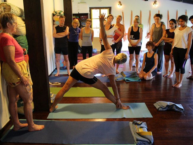 8 Days Iyengar Yoga Retreat in Italy