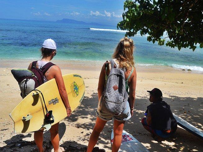 8 Days Surf Camp in Banyuwangi, Indonesia