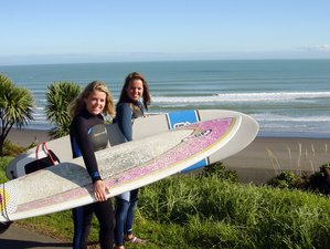 7 Days Surf and Luxury Yoga Retreat in New Zealand