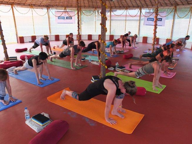 26 Days 200-Hour Luxury Yoga Teacher Training in Goa, India