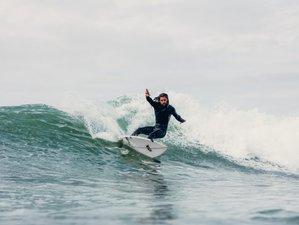 8 Day Free Surfer (All Inclusive) in Costa da Caparica, Lisbon