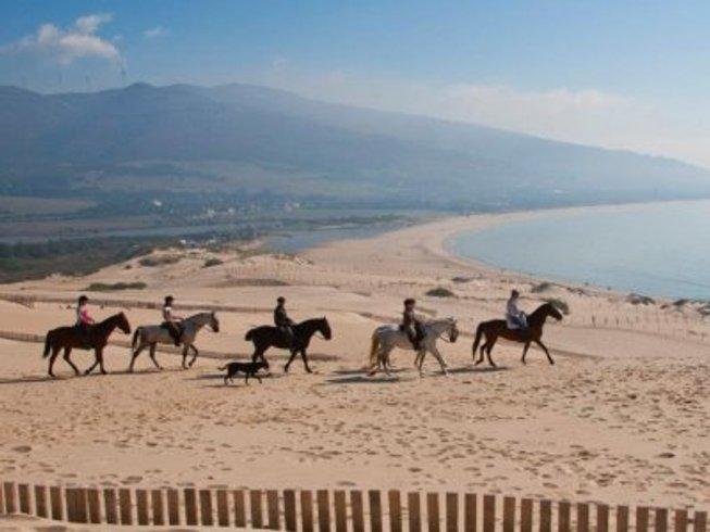 6 jours en stage de yoga et équitation à Zahora Beach en Andalousie, Espagne
