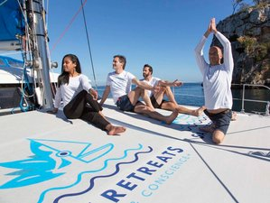 4 Days Sail and Consciousness on the Sea Yoga Holiday with a Catamaran in Mallorca, Spain