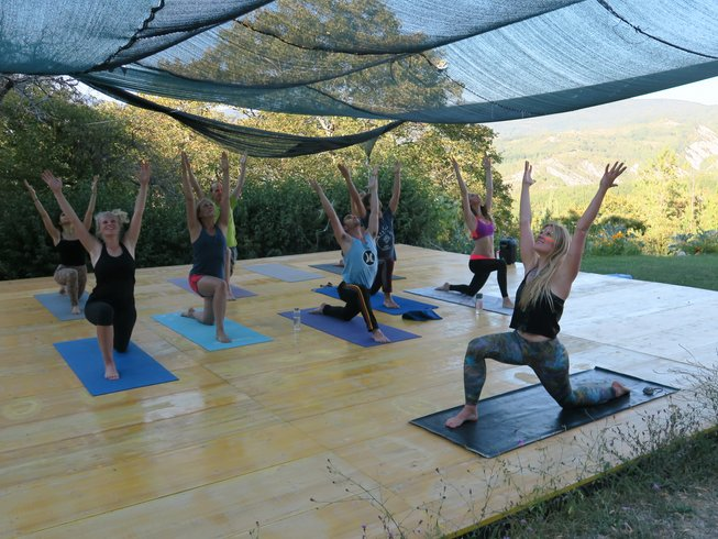 8 días campamento y retiro de yoga en la Toscana, Italia