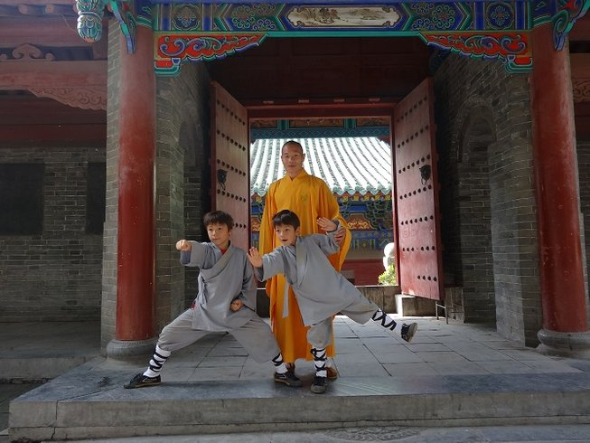 11 Months Traditional Kung Fu in Shaolin Temple