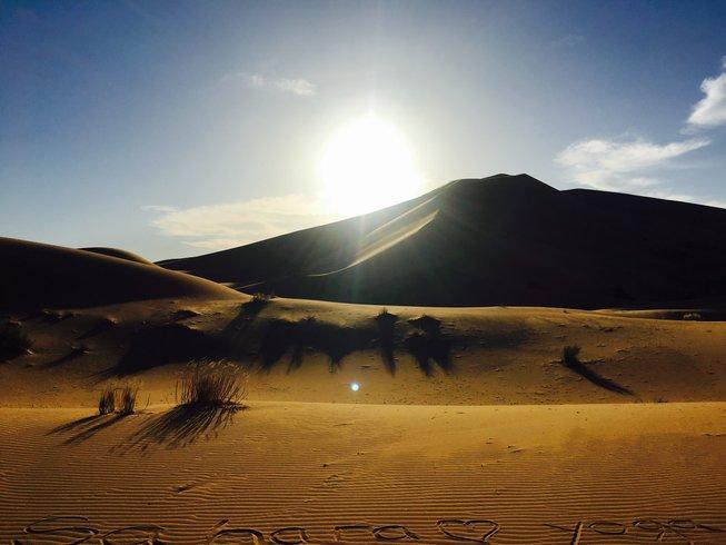 9 días del sonido del silencio y retiro de yoga en Drâa-Tafilalet, Marruecos
