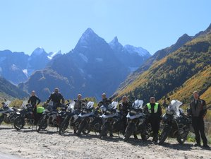 9 Day Sochi to Elbrus Over the Caucasus Mountains Guided Motorcycle Tour in Russia