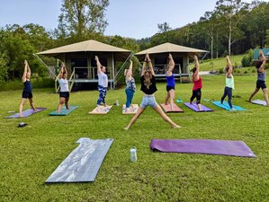 3 Day Wild and Free Glamping Yoga Holiday in Warranulla, New South Wales