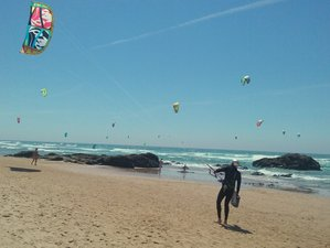 8 Days Multiwater Kitesurf, Surf, Yoga, and SUP Camp in Cascais, Portugal