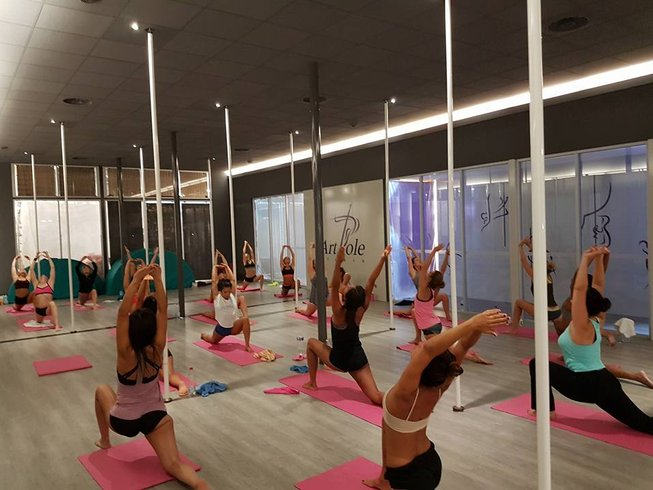 3 jours en stage de yoga, pole dance, coaching de vie et spa à Montpellier, France