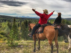 8 Day Horseback-Riding Ranch Vacation in Big Creek, British Columbia