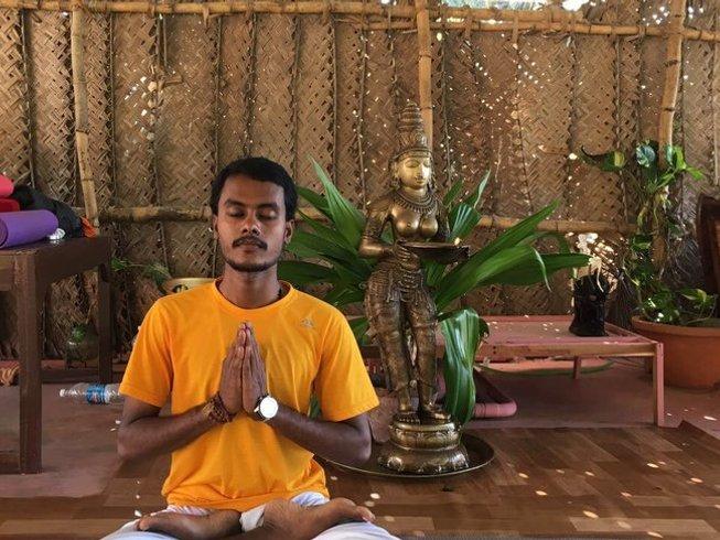 11-Daagse Prive Eiland Yoga Retraite voor Koppels in Kerala, India