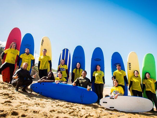 7 Days Yoga and All-Levels Surf Camp in Ericeira, Mafra, Portugal