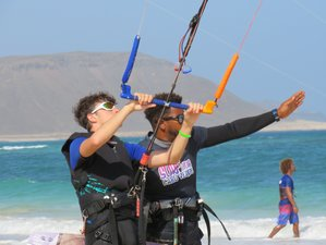 8 Day All Levels Kitesurfing Camp in Santa Maria, Sal Island