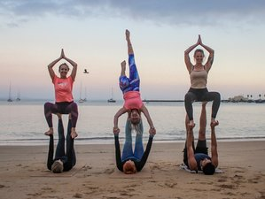 5 Days New Years AcroYoga Fly and Beach Fun Holiday in Alicante