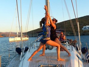 8 Day All Inclusive Rebalance Yoga Sailing Week in Cyclades, Greece