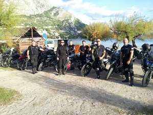15 Day Volcano Country Guided Motorcycle Tour in Tuscany and Sicily, Italy