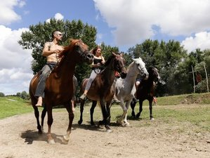 4 Days Adventure Nomad Horse Riding and Archery Camp at the Magical Coast of Vág River, Slovakia