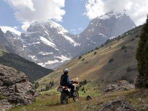 21 Days The Central Asian Ring Motorcycle Tour in Kazakhstan, Uzbekistan, Tajikistan, and Kyrgyzstan