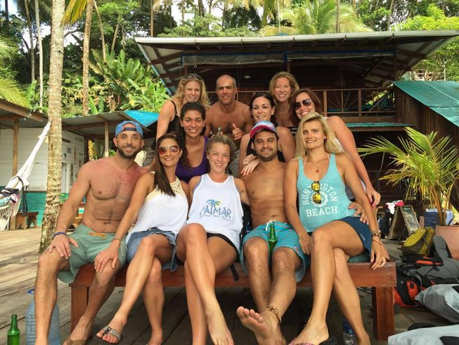 7 Days Paddle and Surf Camp in Panama