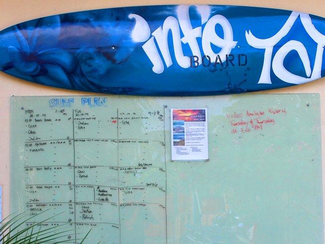 7 Days Guided Surf Camp in Canggu, North Kuta, Indonesia