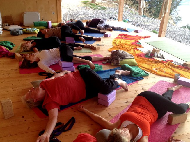 8 Days Nurturing Yoga Retreat in Greece