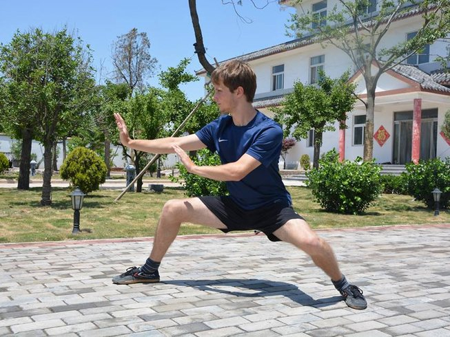 10 Months Wing Chun, Tai Chi and Kung Fu Training China