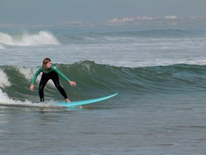 6 Days Surf and Yoga Holiday in Praia Areia Branca, Portugal