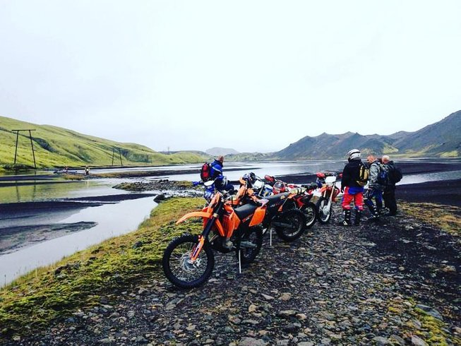4 Days Adventure Motorcycle Tour in Iceland