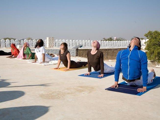10 jours en stage de yoga et atelier style de vie dans le Rajasthan, Inde