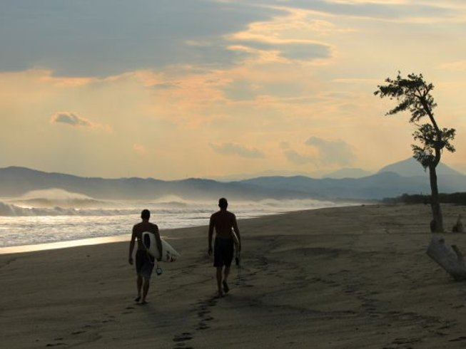6 Days Surf Camp in Salina Cruz, Oaxaca, Mexico