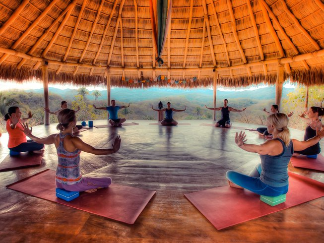 8 Days Soulfire Meditation and Yoga Retreat in Mexico