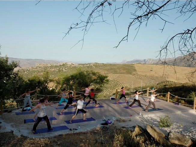 8 Days Yoga Retreat in Andalucia, Spain