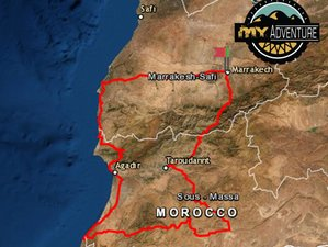 7 Days Travel in the Colors of Morocco Guided Motorcycle Tour