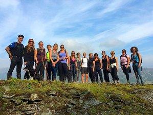 4 Day Springtime Hiking Yoga Holiday in Grindleford, Peak District