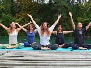 6 Tage Winterliches Yoga und Meditation Retreat am Thunersee in der Schweiz