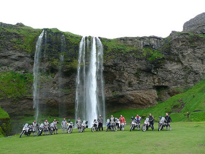 10 Days BMW Iceland Motorcycle Tour