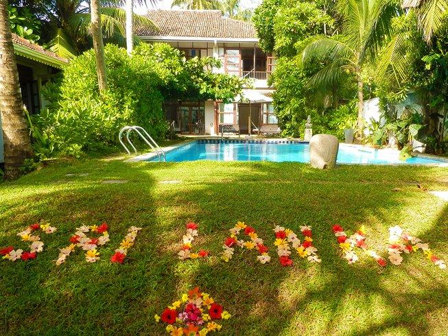 15 días retiro de yoga Ayurveda en Induruwa, Sri Lanka