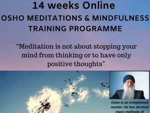 14 Weeks Online Osho Meditations and Mindfulness Training Programme