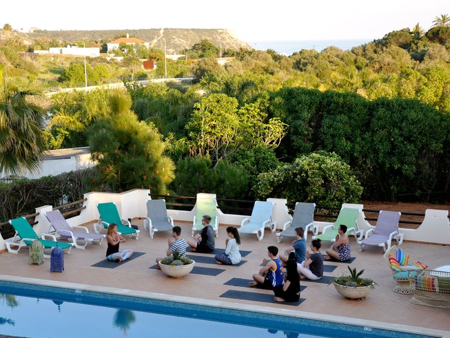 8 Days Algarve Surf and Yoga Retreat in Tavira, Portugal