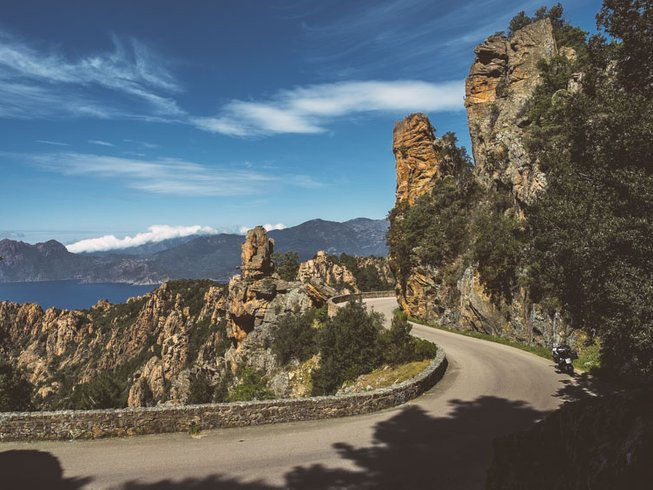 16 Days Breathtaking Motorcycle Tour Italy and France