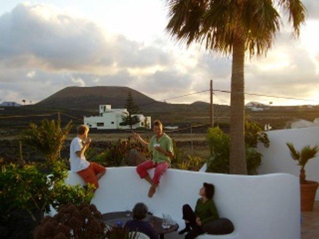 13 días de retiro de yoga revitalizante en Lanzarote, España